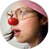 Odkaz na aktualitu Klauni rozesmějí děti přes internet